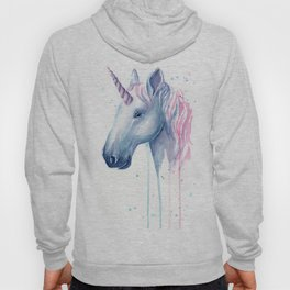 Blue Pink Unicorn Hoody