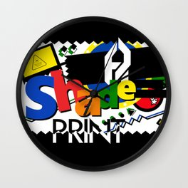 PLAY:Shadeprint Wall Clock