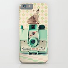 Mint Imperial Kitty iPhone 6s Slim Case
