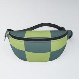 classic green plaid Luca Fanny Pack