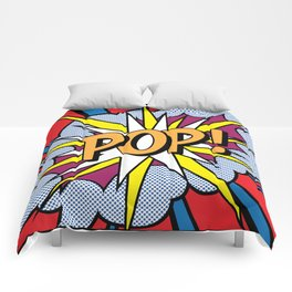 POP Art Exclamation Comforters