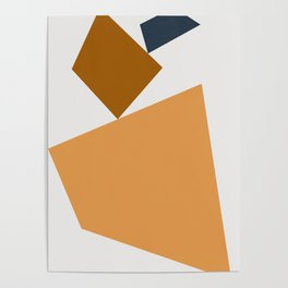 Abstract Geometric 24 Poster