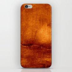 brown wall iPhone & iPod Skin