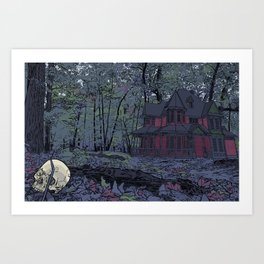 No. 3 The Elsewhere House Cover Art Print