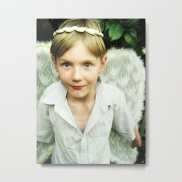 The Angel Gabriel 2 Metal Print