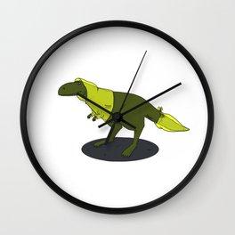 skeptic tyrannosaurus Wall Clock