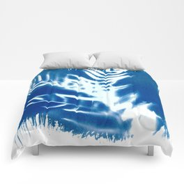 Nature Cyanotype III Comforters