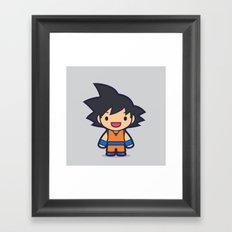 FunSized GoKu Framed Art Print