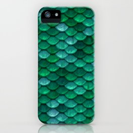 Green Penny Scales iPhone Case