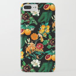 Fruit and Floral Pattern iPhone Case