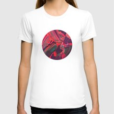 untitled SMALL White Womens Fitted Tee