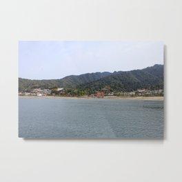 Miyajima Island From Afar Metal Print