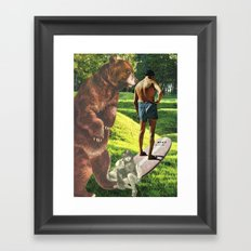 Don't Be Afraid To Take Chances, Young Or Old..... Framed Art Print