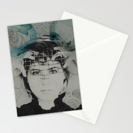 you'll never forget me Stationery Cards