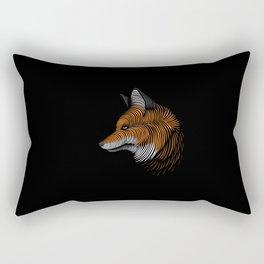 fox lines Rectangular Pillow