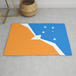 Flag of Tierra del Fuego Rug