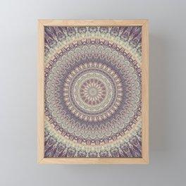 Mandala 537 Framed Mini Art Print