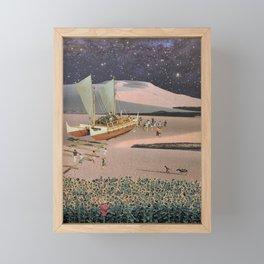 'La Tormenta y el Peregrino' Framed Mini Art Print