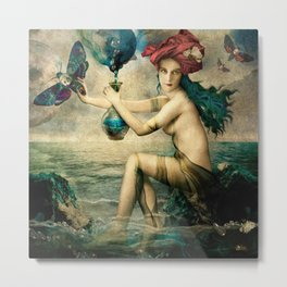 The Blessed Temperance Metal Print