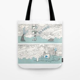The search of love Tote Bag