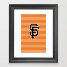 SF Giants Framed Art Print