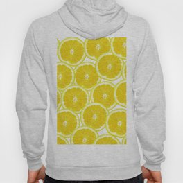 Summer Citrus Lemon Slices Hoody