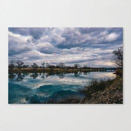 Waco Reflection Canvas Print