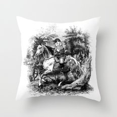 The Last of the Gnomes Throw Pillow