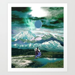 Cold as the winter Art Print