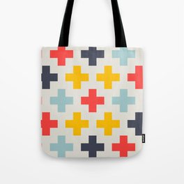 Retro Cross Heaven Tote Bag