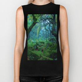 Enchanted forest mood Biker Tank