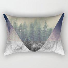 Inverted Forest Rectangular Pillow