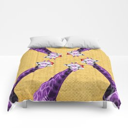 Tis The Season - Giraffe Comforters