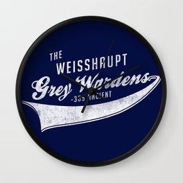 Weisshaupt Grey Wardens Wall Clock