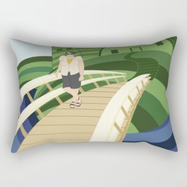 Windmills Rectangular Pillow