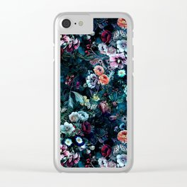 Night Garden Clear iPhone Case