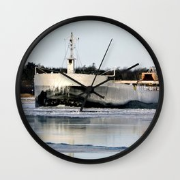 Great Republic Freighter Wall Clock