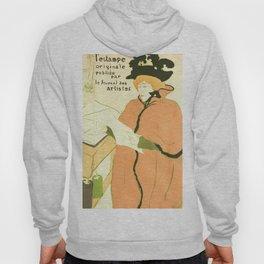 """Henri de Toulouse-Lautrec """"Couverture de l'estampe originale"""" Hoody"""