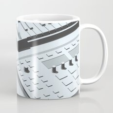 Low Poly Studio Objects 3D Illustration Grey Mug