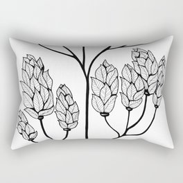 Leaf-like Sumac Rectangular Pillow