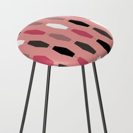 Colima - Pink Counter Stool