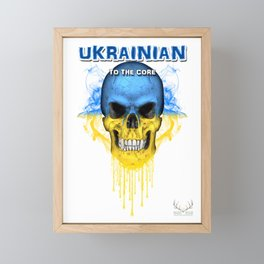 To The Core Collection: Ukraine Framed Mini Art Print
