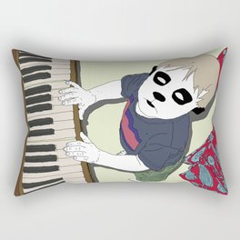 The Pet Piano Rectangular Pillow