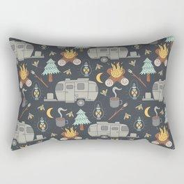 Airstream Camping Rectangular Pillow