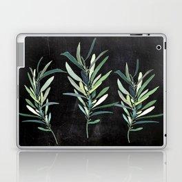 Eucalyptus Branches On Chalkboard Laptop & iPad Skin