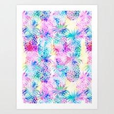 Pineapple Dream Art Print