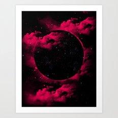 Black Hole Art Print