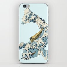 Koi japanese fish number two iPhone & iPod Skin