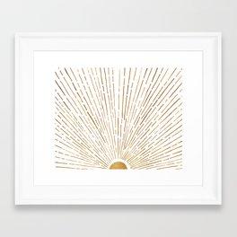 Let The Sunshine In Gerahmter Kunstdruck