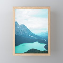 Calm Lake Framed Mini Art Print